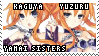 Date A Live Stamp: Yamai Sisters by Pastel--Galaxies