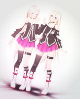 tda default ia (+dl) (early 1,600 watchers gift) by Pastel--Galaxies