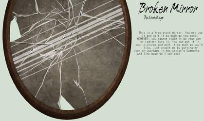 Broken Mirror: STOCK by horsehugs