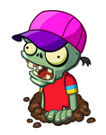 Breakdancer Zombie PvZH