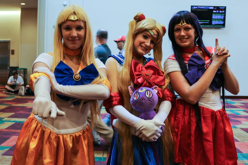 Gencon 2014 Sailor Moon by SirKirkules