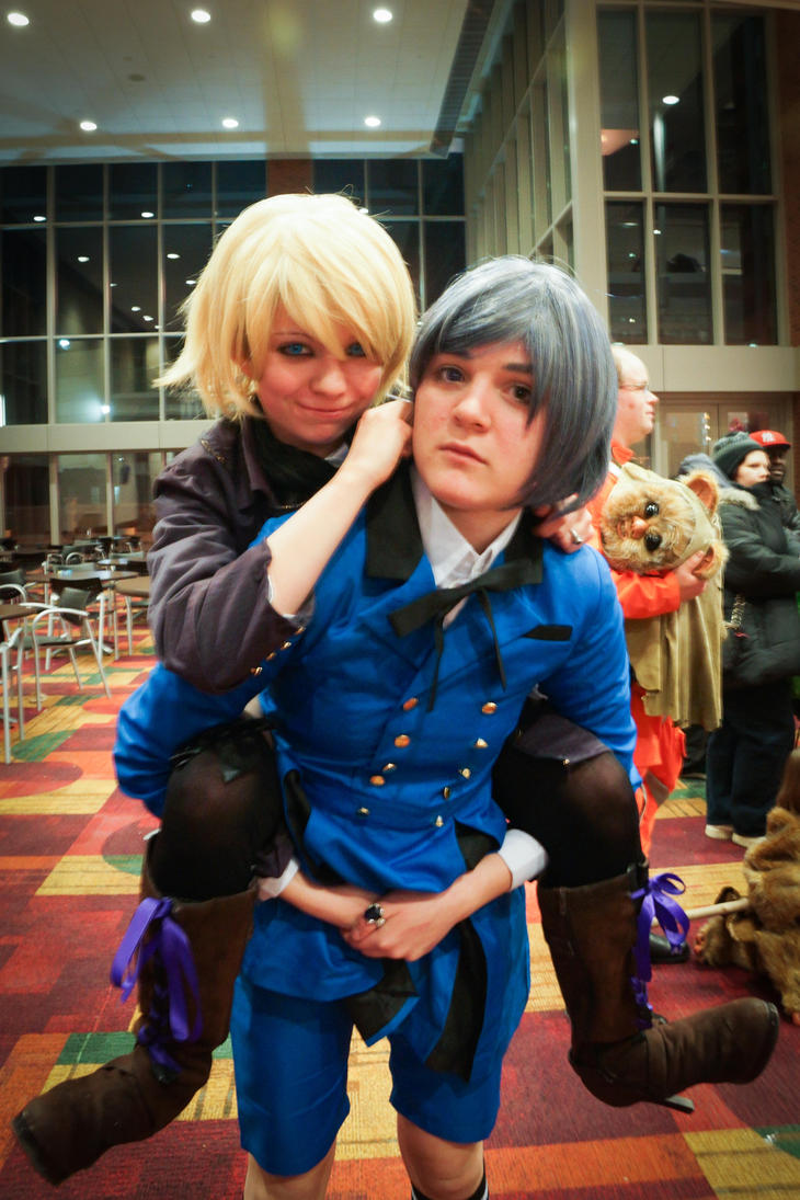 WW Comic Con Indianapolis 2015 Duo by SirKirkules
