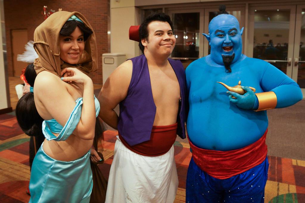 WW Comic Con Indianapolis 2015 Aladdin by SirKirkules