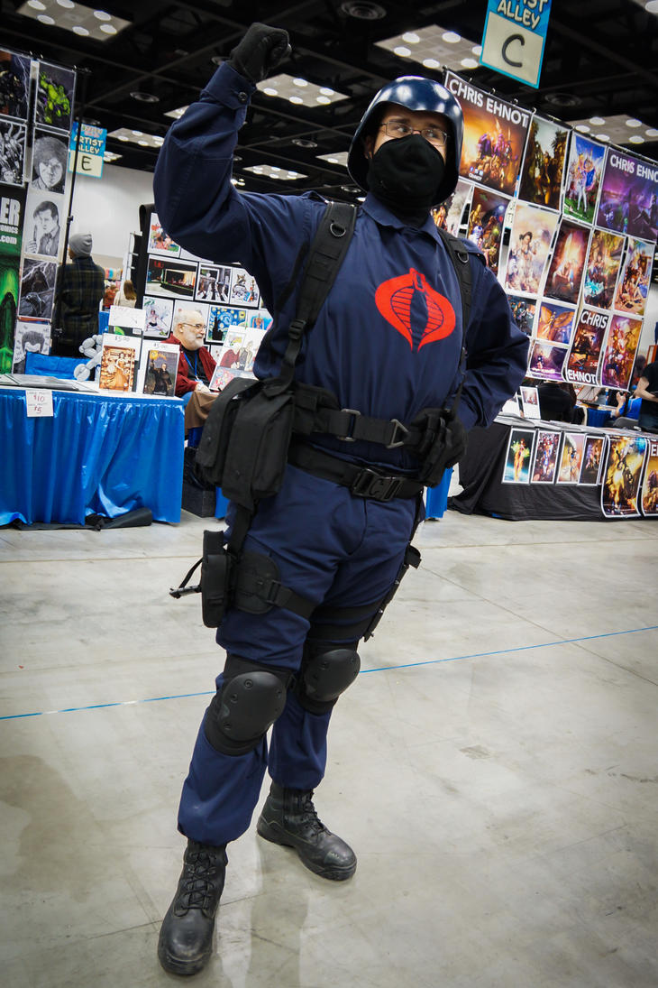 Indiana Comic Con Cobra by SirKirkules