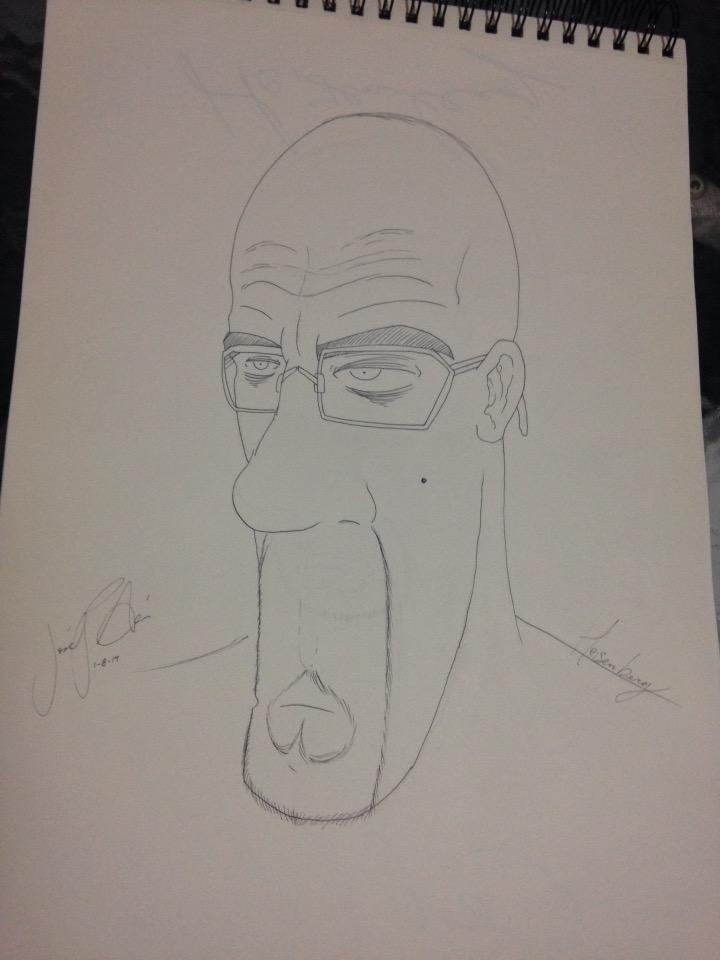 Heisenberg by Johc