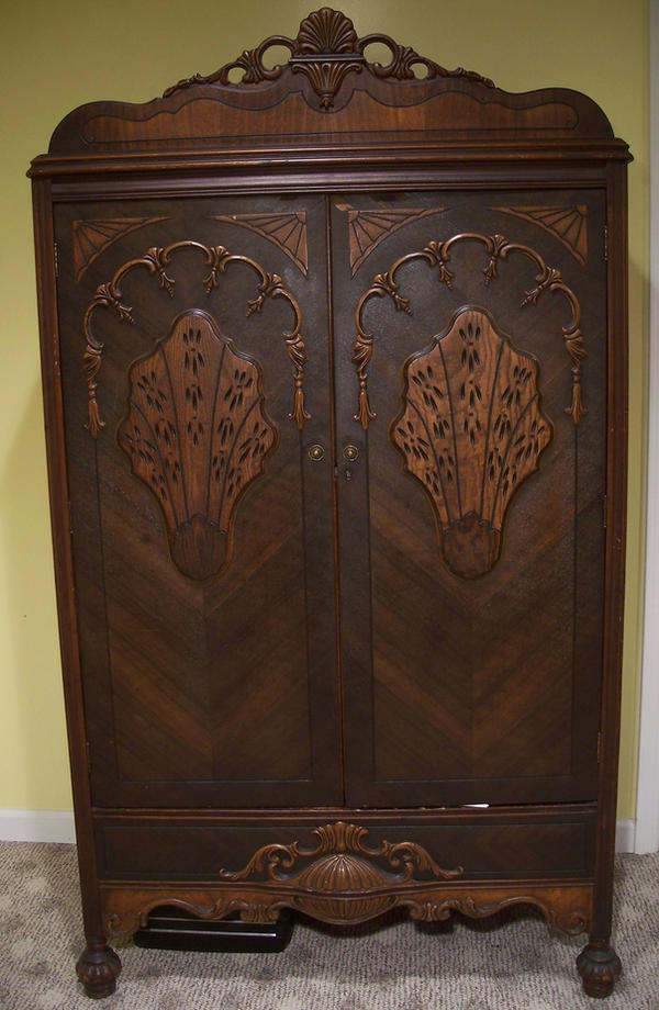 Antique Armoire by EverydayStock on DeviantArt