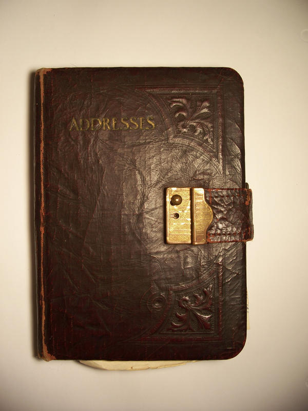 Old Address Book by EverydayStock