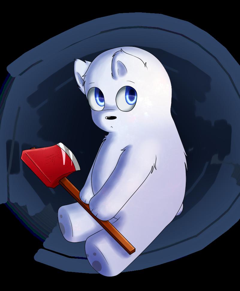 A little Ice bear by xXLucky-The-WolfxX
