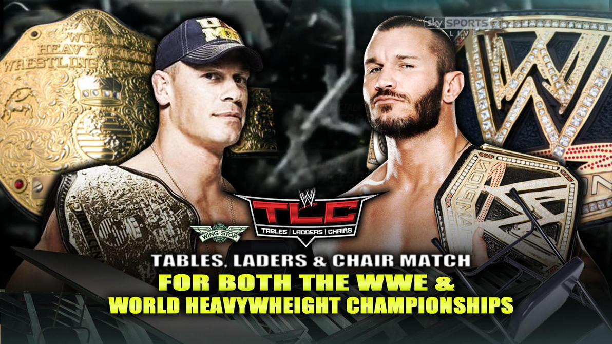 Wwe tables ladders and chairs 2013 poster - Wwe Tlc 2013 Match Card By Diegobitw