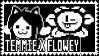 Temmie X Flowey Stamp by xxThaCoolDudexx
