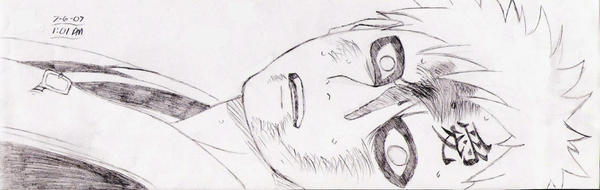 Defeated Gaara Sketch by anime-fan-addict