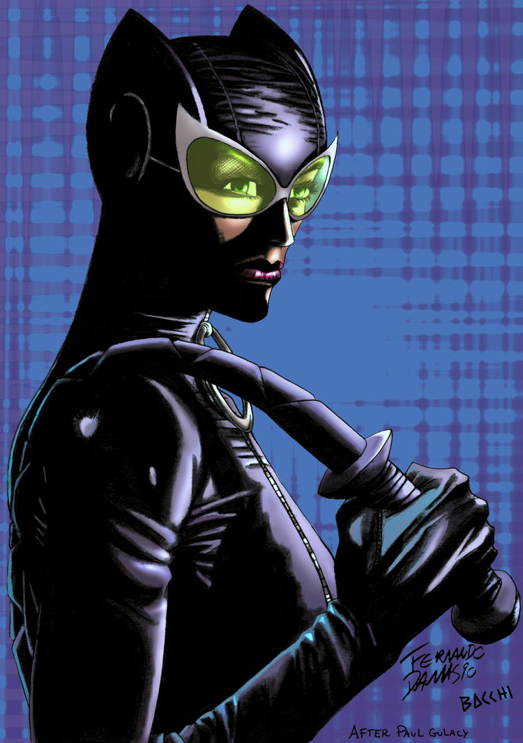 Catwoman by BacchiColorist