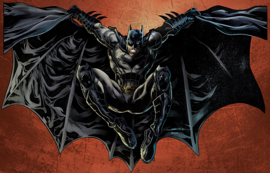 Batman by BacchiColorist