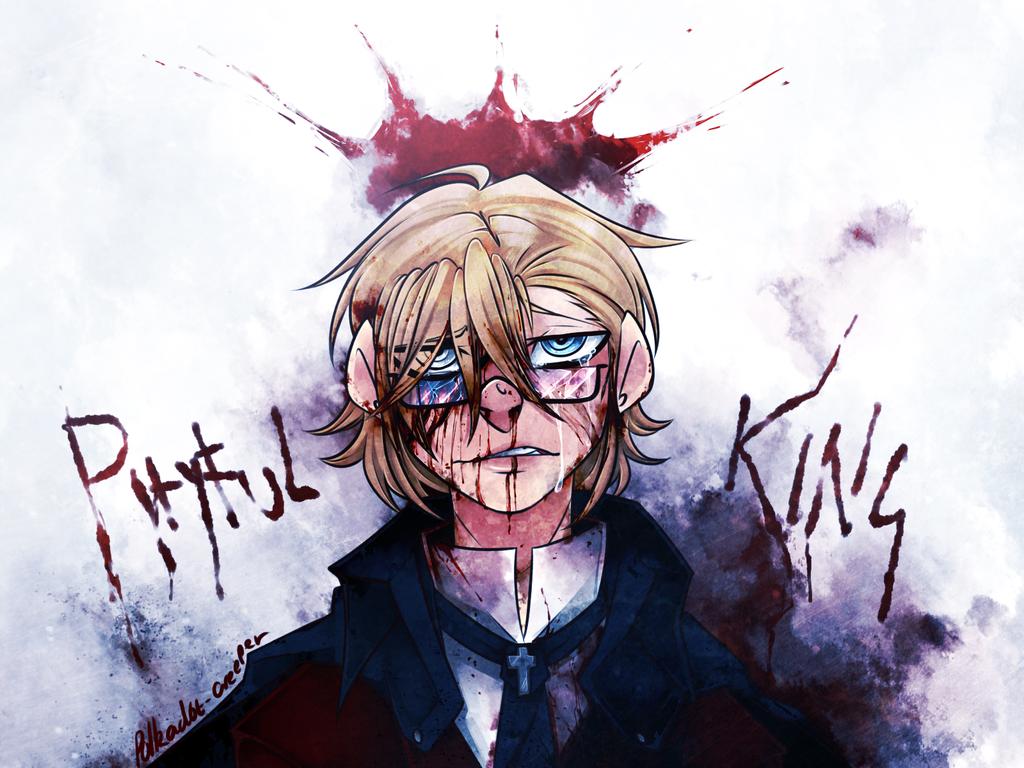 Pityful King by Polkadot-Creeper