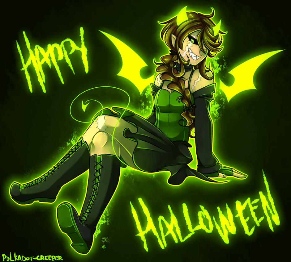 Happy Halloween! by Polkadot-Creeper