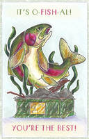 The O-Fish-Al Father's Day Card