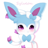 Shiny Syleon by LunaticLily13