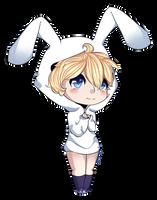 .:Cutie pie bunny boy:. by LunaticLily13