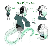 OC: Asphiixia by LunaticLily13
