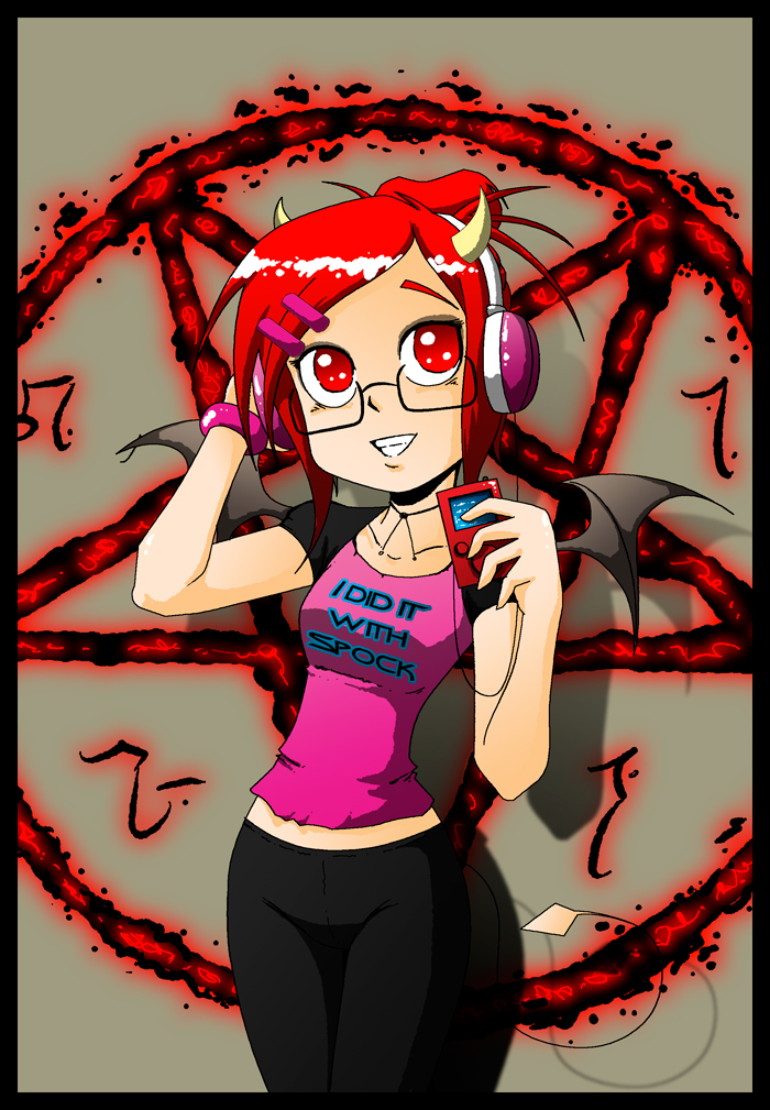 Giselle- demonic nerdtastic by Carlos-the-G