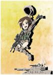 Military girls- Chilean army commando
