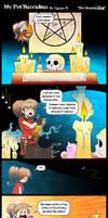 My Pet Succubus Page 1- Manga Studio version.... by Carlos-the-G
