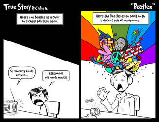 True story - Beatles by Carlos-the-G