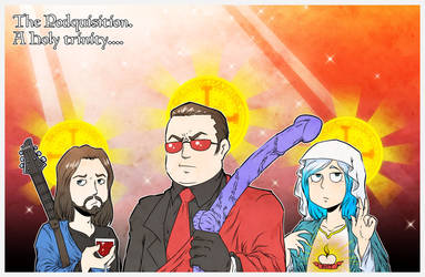 Podquisition fan art by Carlos-the-G