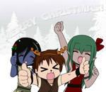Merry OC Christmas! by nemesisz-moon