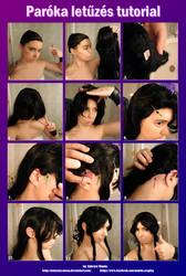 Pinning down the wig - tutorial (Hun/Eng) by nemesisz-moon
