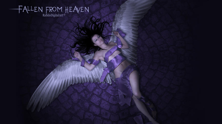 Fallen from heaven Wallpaper by Rafido