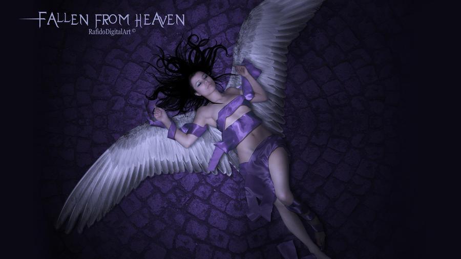 Fallen from heaven Wallpaper by Rafido