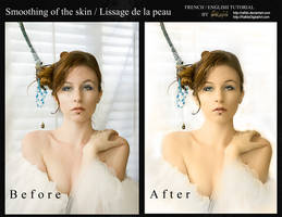 tuto skin before after by Rafido