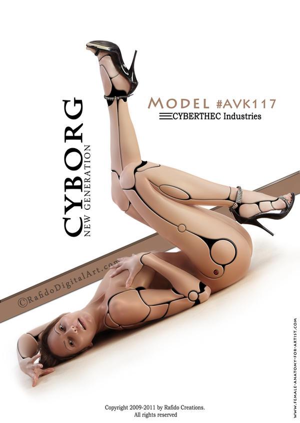 Cyborg white version by Rafido