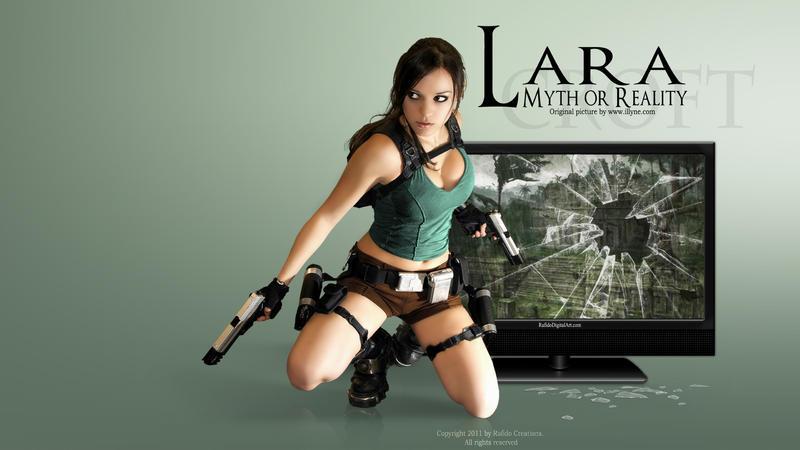 Lara CROFT by Rafido