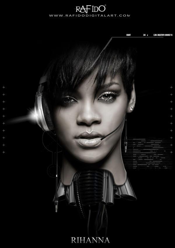 Rihanna by Rafido