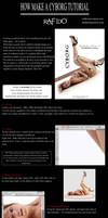 How to make a cyborg photoshop tutorial