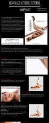 How to make a cyborg photoshop tutorial by Rafido