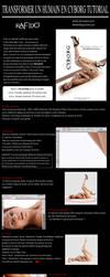 Transformer un humain en cyborg Photoshop tutoriel by Rafido