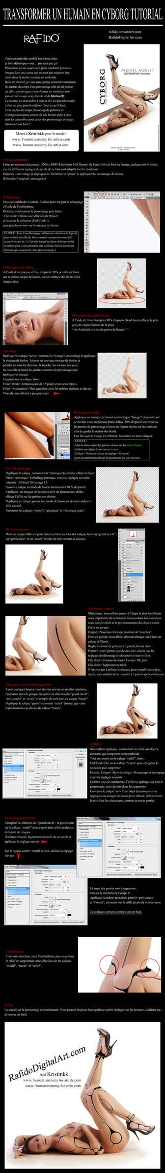 Transformer un humain en cyborg Photoshop tutoriel
