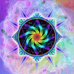 Cosmic Mandala by aptc55