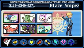 Pokemon Omega Ruby Trainer Card
