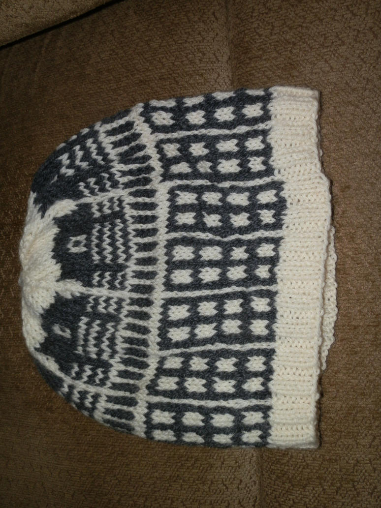 Dalek fair isle hat by rjccj