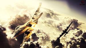 Film Correct: Speed Art - Sky War   [HD] Ali Desig