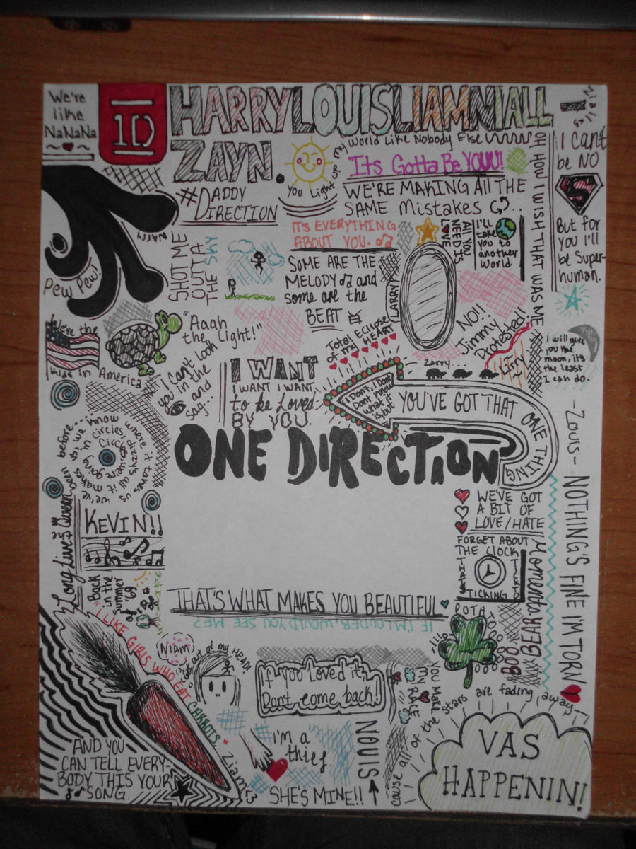 One Direction Roll Wrapping Paper | One Direction Products
