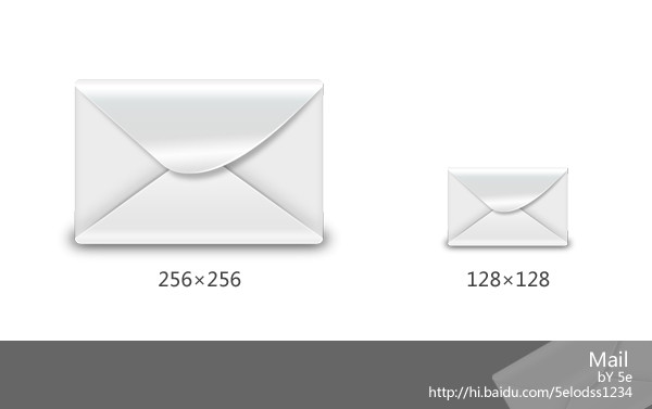mail icon by 5ezhi