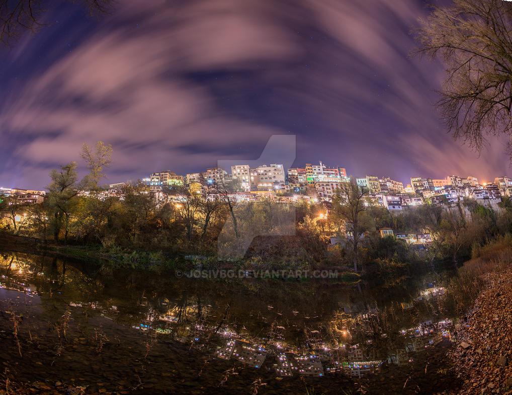 Fish eye lens panorama by JosivBG