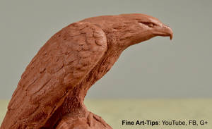How to Sculpt an Eagle in Clay - How to Model