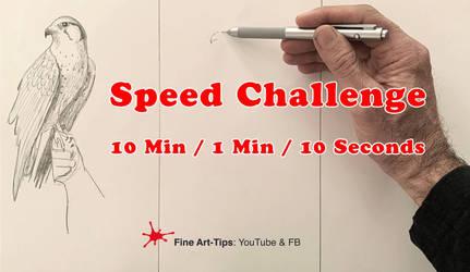 Speed Challenge - 10 Min / 1 Min / 10 Seconds by ArtistLeonardo