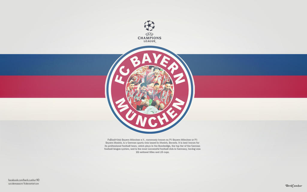 FC Bayern Muchen by suicidemassacre16